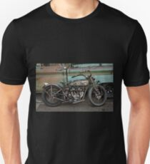 Rusty Indian Scout Bobber Unisex T-Shirt