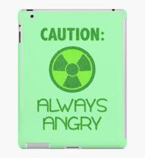 Always Angry iPad Case/Skin
