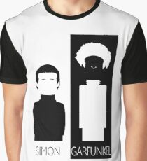 Simon and Garfunkel B&W Graphic T-Shirt