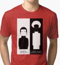 Simon and Garfunkel B&W Tri-blend T-Shirt