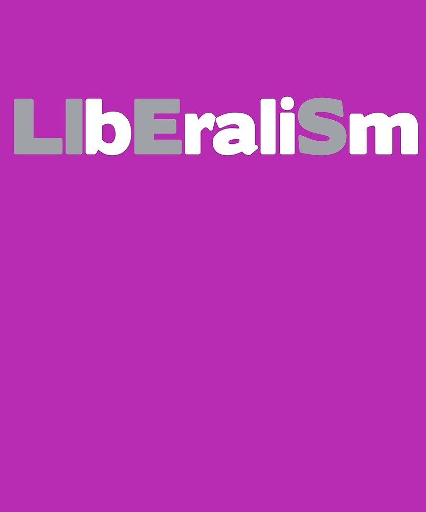Liberalism LIES Conservative Election Republican T-Shirt by AlwaysAwesome