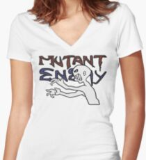 Mutant Enemy  Women's Fitted V-Neck T-Shirt