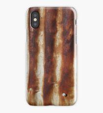 Rusty Corrugation iPhone Case/Skin