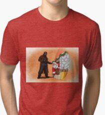 Omar Little strikes again Tri-blend T-Shirt