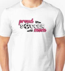 Stolze Fußballmutter Slim Fit T-Shirt