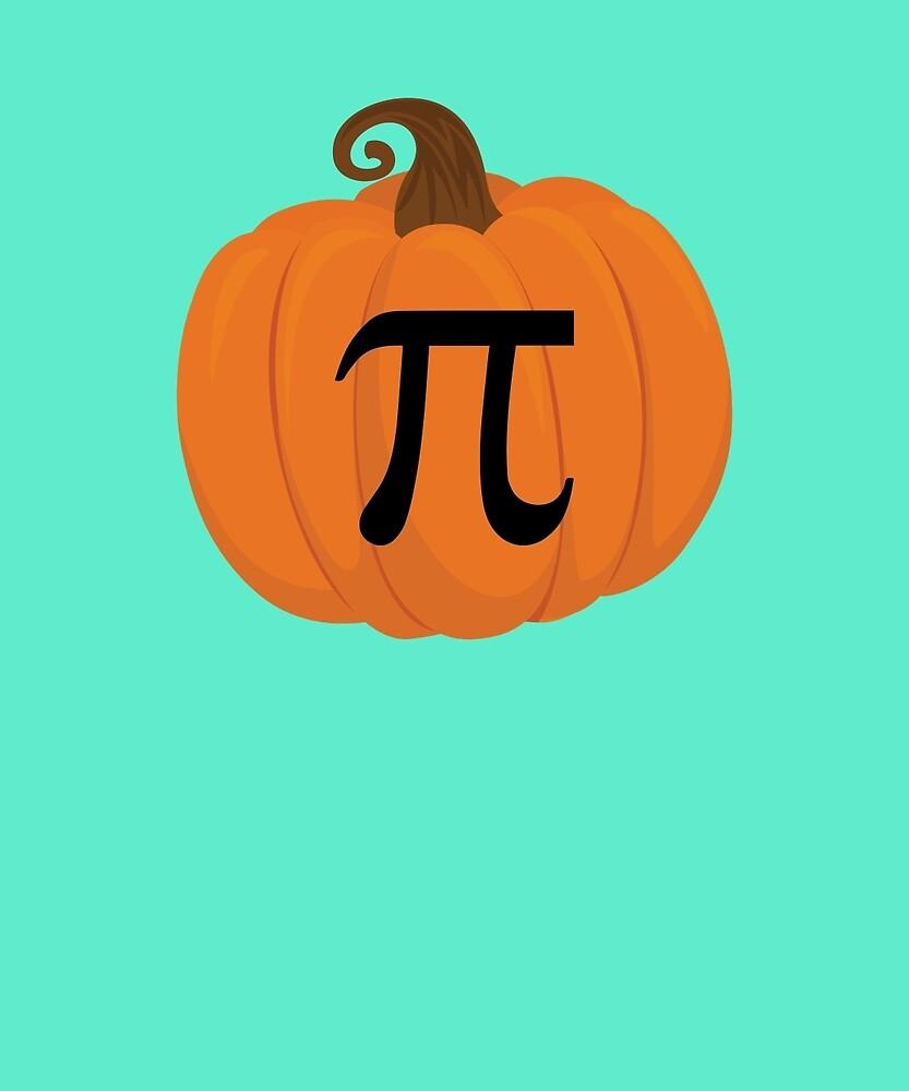 Pumpkin Pi Funny Math Joke Holidays Teacher Gift T-Shirt by AlwaysAwesome