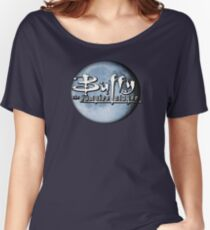 Buffy logo Women's Relaxed Fit T-Shirt