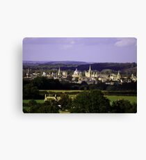 Oxford Dreaming Spires Canvas Print