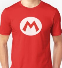 Super Mario Emblem T-Shirt