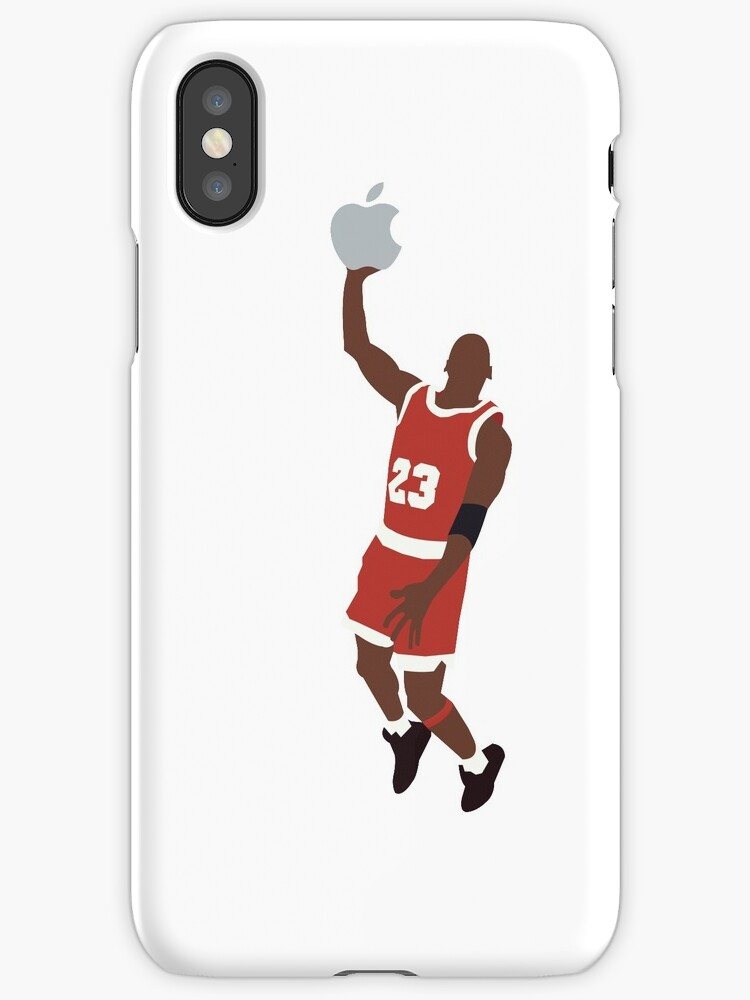Michael Jordan Dunking An Apple By ZackZiegler