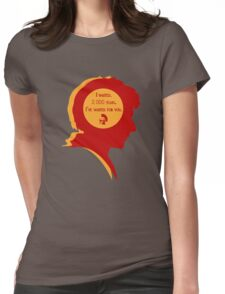 Rory silhouette Womens Fitted T-Shirt