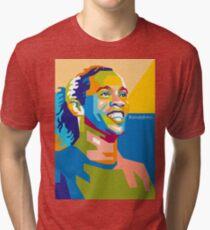 WPAP - Ronaldinho Tri-blend T-Shirt
