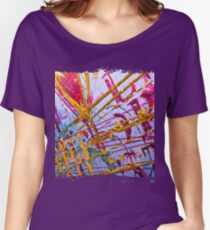 Love Grunge Texture Women's Relaxed Fit T-Shirt