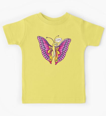 Coolorful Butterfly Kids Clothes