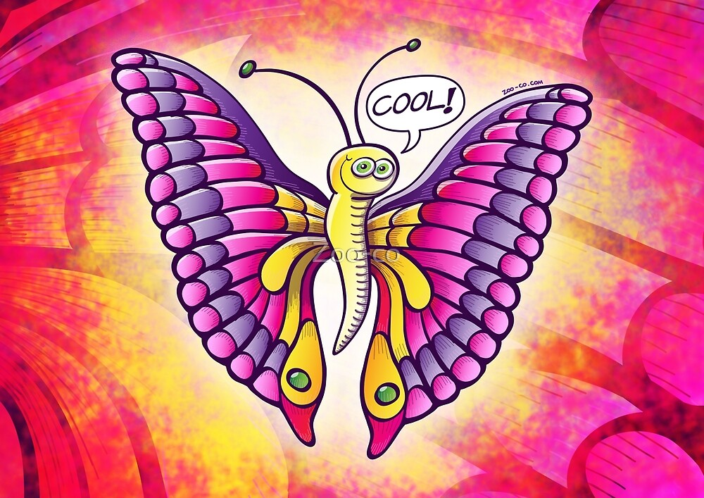 Coolorful Butterfly by Zoo-co
