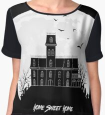 Home Sweet Home - Haunted House Chiffon Top