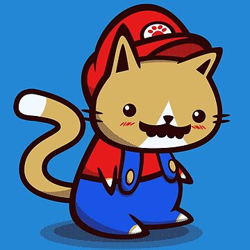 It's-a-me! Meow-rio! by Squidgee