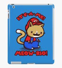 Es ist-ein-Ich! Miau-Rio! (Text ver.) iPad-Hülle & Klebefolie