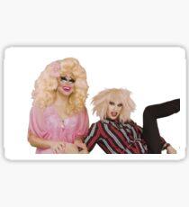 Katya Zamolodchikova and Trixie Mattel (UNHhhh) Sticker