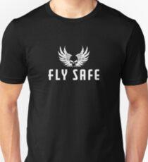 Fly Safe White T-Shirt