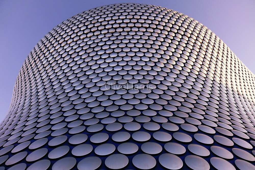 Blue, purple and silver facade by CliveHarris