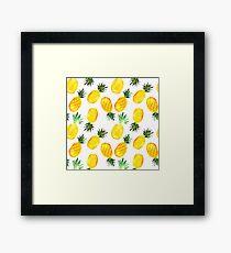 Ananas Gerahmtes Wandbild