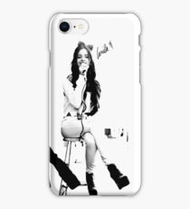camila - b&w series iPhone Case/Skin