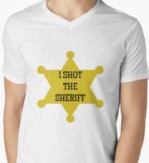 I Shot the Sheriff  Mens V-Neck T-Shirt