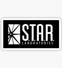 STAR LABS - LABORATORIES - White Sticker