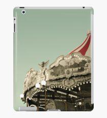 Vintage carousel ride iPad Case/Skin