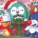 Shiny Holiday Starters by MCMcLamb