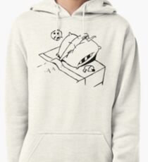 Earthworm Jim Takes a Nap Pullover Hoodie