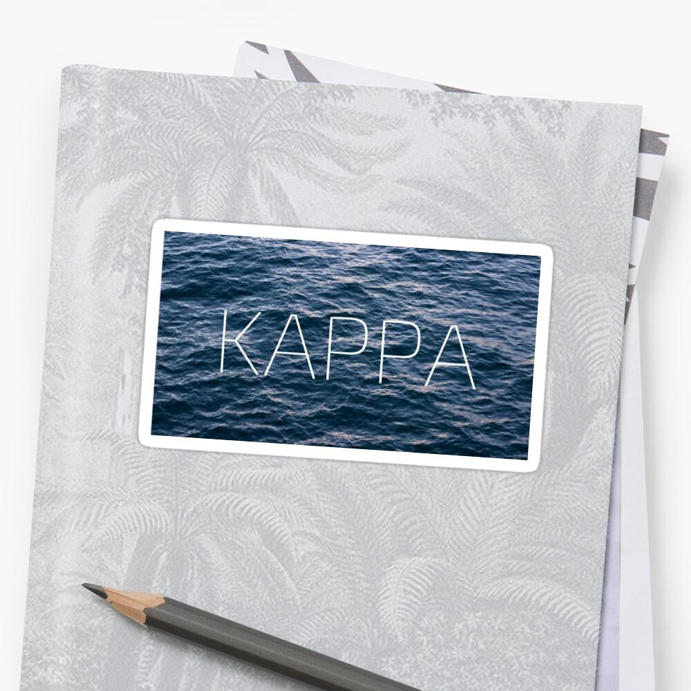 kappa by J. Elizabeth