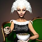 Strictly vegetarian - the bird woman von Britta Glodde