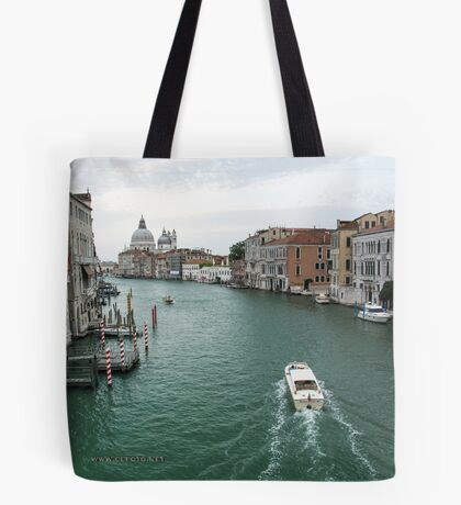 Scene on the Grand Canal, Venice Tote Bag