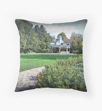 Falling Into Mill Creek Throw Pillow