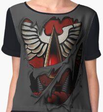 Blood Angels Armor Chiffon Top