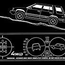 Toyota Tercel SR5 4WD Wagon AL25 BW Clinometer by Tom Mayer