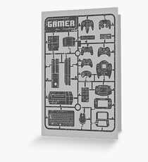 Gamer Parts Greeting Card