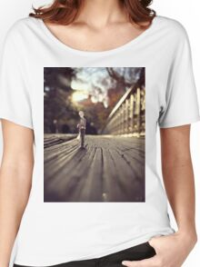 stood up - central park T-shirt femme coupe relax