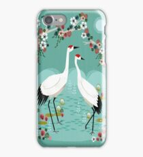 Cranes by Andrea Lauren iPhone Case/Skin