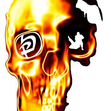 krav maga skull by jonce