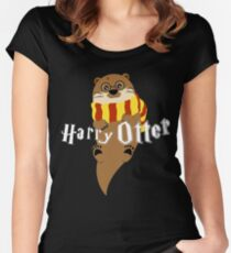 Harry Otter Women's Fitted Scoop T-Shirt