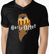 Harry Otter Men's V-Neck T-Shirt
