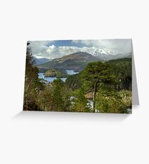 Glen Affric Greeting Card