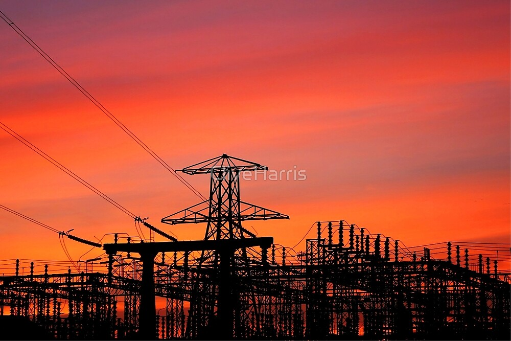 Electric sunset by CliveHarris