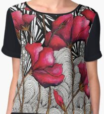Ruby Rosa Women's Chiffon Top