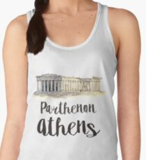 Parthenon watercolor Women's Tank Top
