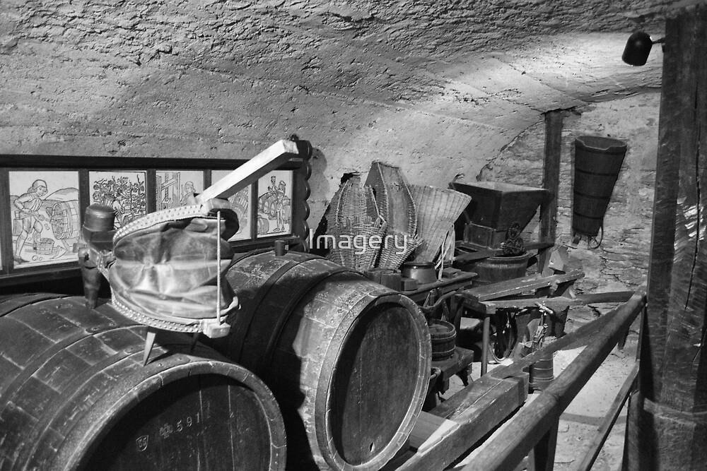 Barrel Room Marksburg Castle  by Imagery