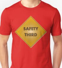 Safety 3rd Unisex T-Shirt